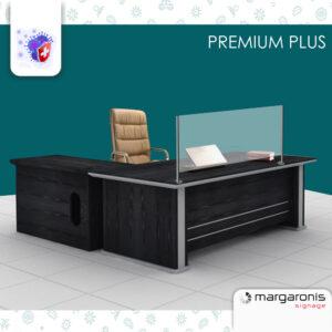 Προστατευτικό Plexiglass Γκισέ Ταμείου - Stand Premium Plus 6mm - με σύνθεση