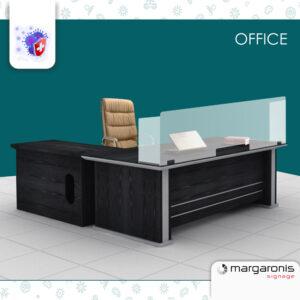 Προστατευτικό Plexiglass για Γραφείο – Stand Office – 5mm